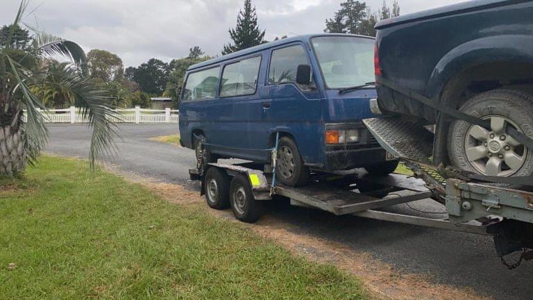west auckland broken car collection