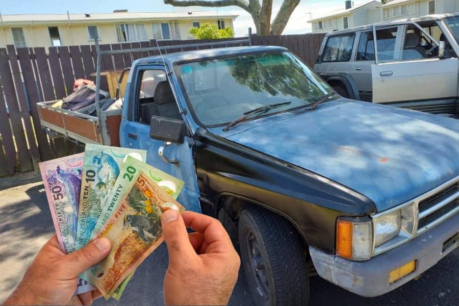 scrap car removal auckland